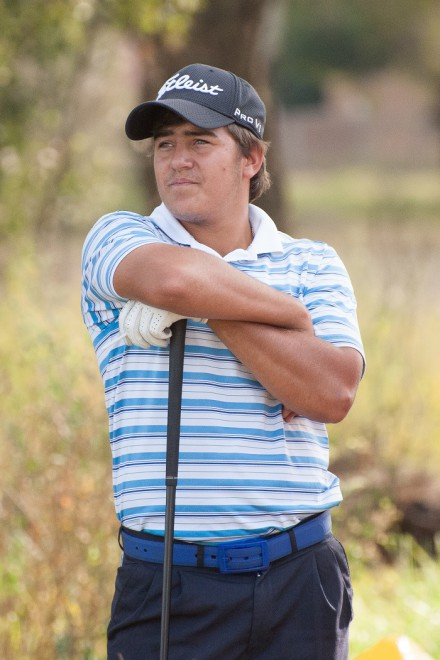 : South Africa's number one ranked junior Hennie du Plessis led the SA side in the opening round of the All-Africa Junior Golf Championship in Lusaka, Zambia.