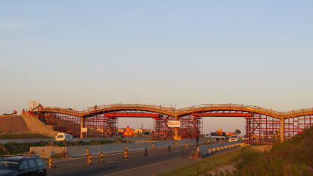 Innovative technology used on N2 Pedestrian Bridge – The