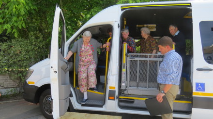 Go George Minibuses Run Trials In The Community The