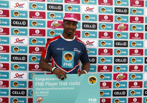 Madibaz flanker Andisa Ntsila is not a man who likes to go through the motions. Photo: Saspa