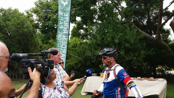 SABC News Interview, as well as Die Burger
