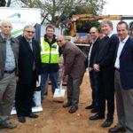 Sod turning ceremony celebrates construction of George Transport Hub