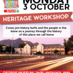 George Heritage Festival:  Monday 3 Oct History of George