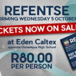 Book your Tickets to see REFENTSE on 5 October 2016