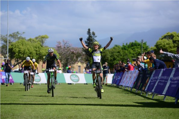 2.Erik Kleinhans and Matt Beers claimed stage victory on Stage 3 of the Cape Pioneer Trek. Photo by www.zcmc.co.za