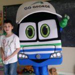 Georgie surprises kids at Legacy Centre