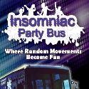 Insomniac Party & Promotions bus is a 40 Seater Single Decker Party Bus complete with Bar, DJ Booth and Bathroom Facilities for Group Tours