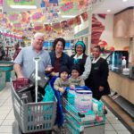 Shopper wins trolley dash with Checkers Little Shop at Checkers St Georges Square
