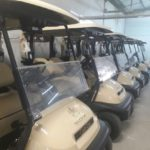 Fancourt golf renovations and new golf carts
