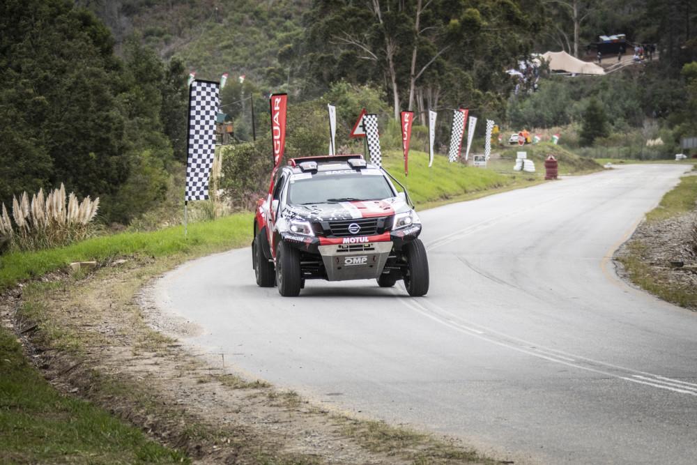 Terence Marsh in his T1 Dakar Nissan Navara