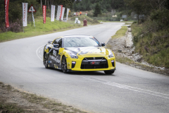 Reghard Roets in his standard GT-R from Melrose Nissan