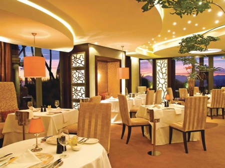 Conrad pezula resort spa celebrates highest dining for Accolades salon reviews