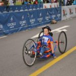 Ten-year-old disabled cyclist takes on Knysna Cycle Tour 50 km road race