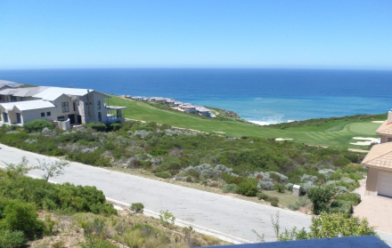 Scenic view from one of the homes at Pinnacle Point Beach & Golf Estate in Mossel Bay.