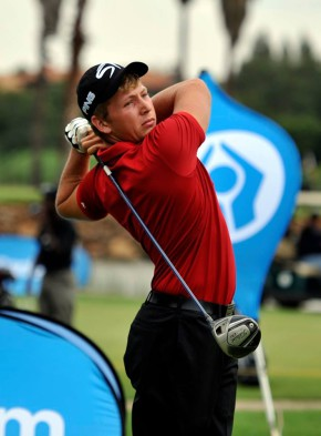 Marcus Smal carded rounds of 78 and 80 to help the Louis 57 Golf Academy into the lead at the 2015 Louis Oosthuizen SA Junior Club Team Championship at Langebaan Golf and Sports Club