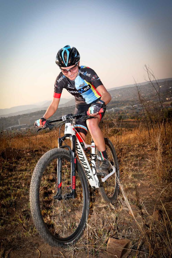 Mariette Hattingh is one of the Team Bestmed-ASG ladies taking part in the Cape Pioneer Trek from October 18. Photo: Supplied