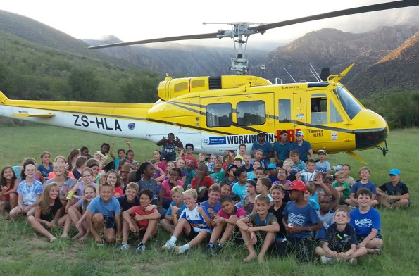 The Grade 5's of Outeniqua Primary learnt more than they expected: Aviation was one of the surprises