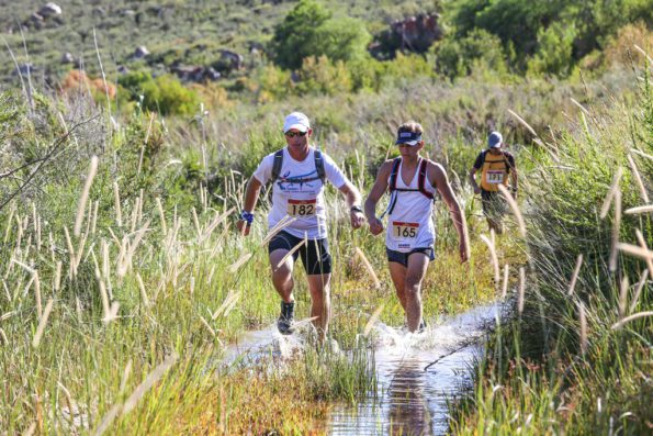 Despite the mid-summer race date, and the Klein Karoo race start, splashing through streams is a likelihood during the Attakwas Trail
