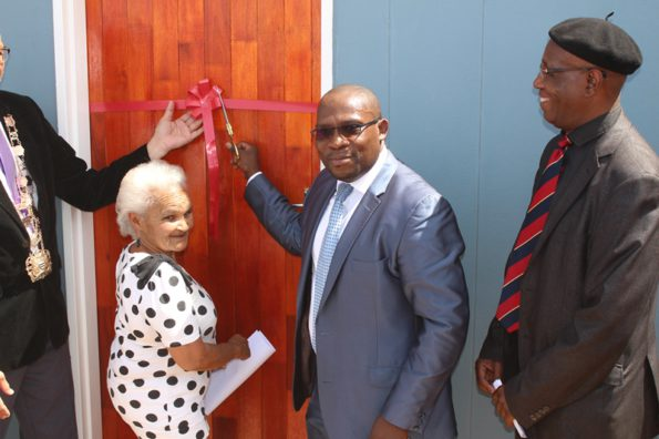 Roseline Pockpas received her home