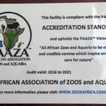 Cango Wildlife Ranch awarded prestigious Accreditation once again!