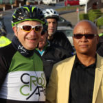 Minister Alan Winde rides the inaugural Cross Cape Cycle Route