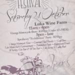 Blow off winter with the Plett Vintage & Vine Festival at Luka Wine Farm