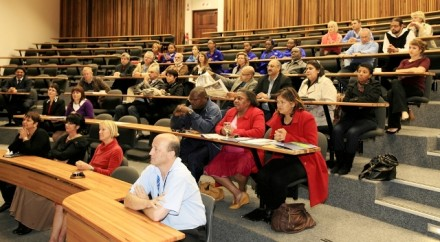 Delegates representing a cross-section of stakeholders, including the education sector, local government and organised business attended NMMU's Education Sector breakfast event during the university's annual Open Day in George.