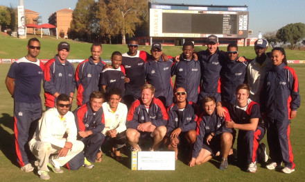 The NMMU-Madibaz lost to Tuks in the final of the Momentum National Club Cricket Championship at SuperSport Park in Centurion on Monday. Photo: Supplied
