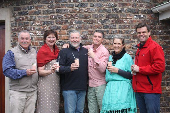 Carools Hauptfleish, Susan Pretorius, Alewijn Dippenaar, Andries Hartman, Sue Leferna and Frederick Bekker
