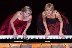 Elna van der Merwe (pianist) Zorada Temmingh (pianist) = The Blondes