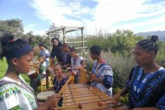 Marimba Players with Betsie Ryke and Reagen Diedericks