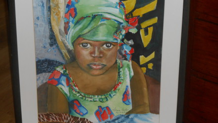 Artist Arina Venter